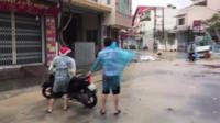 Typhoon Damrey descends on southern Vietnam