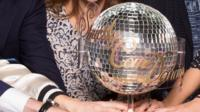 The Strictly Come Dancing trophy