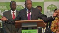 President Uhuru Kenyatta speaks