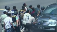 Police in Jakarta