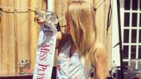 Beauty queen Maude Gorman explains the painful reasons she quit after a pageant skit mocked #MeToo.