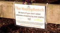 The happy bench