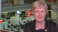 Chief executive of Diabetes UK, Barbara Young in a BBC interview
