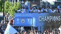 Manchester City bus parade