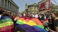 Birmingham Pride flag