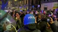 Protests in Naples