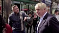 Man in Morley speaks to Prime Minister Boris Johnson