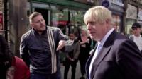Man in Morley speaks to Prime Minister Boris Johnson