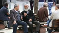 Uighurs in Istanbul