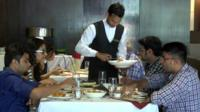 Modern Indian restaurant