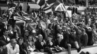 England fans 1966