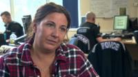 Police officer describing her menopausal symptoms