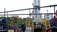 Exploration drilling site