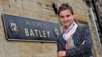 Jo Cox in Batley (file)