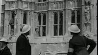 Parliament after the World War ll bombing