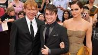 Rupert Grint, Daniel Radcliffe and Emma Watson