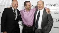 director Matt Russell, Lucas Black and Robert Duvall