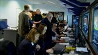 MSPs see behind the scenes at Ibrox during an Old Firm game