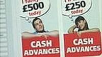 Cash advance advertising