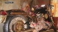 Ikuo Yokoyama's motorbike