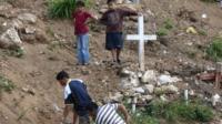 Cemetery in Honduras