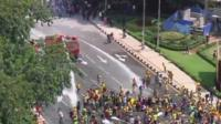 Malaysian rally