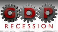 GDP recession graphic