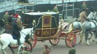 A rehearsal of the jubilee carriage procession