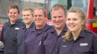 Five members of a family from Newquay have signed up with the Cornwall Fire and Rescue Service in the town