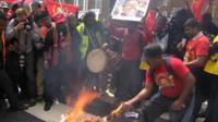 Tamil protest in London