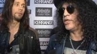 Slash was among the heavy metal stars at the Kerrang Awards