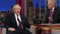 Boris Johnson on Letterman show