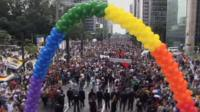 Brazil's Gay Pride parade