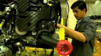 Mercedes-Benz parts being manufactured in India