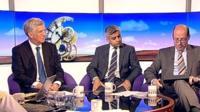 Michael Fallon, Sadiq Khan and Nick Robinson