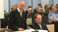Breivik's main lawyer, Geir Lippestad