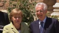 Merkel and Monti