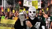 Rio protesters