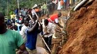 Landslide in Uganda