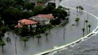 Florida under floodwater