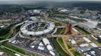 Olympic Stadium and Olympic Park in Stratford, London