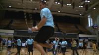 Robbie Csontos jumping rope