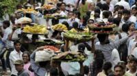 Street market in Mumbai