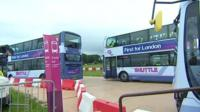 Park-and-Ride site in Weymouth