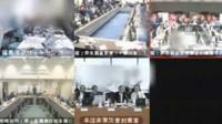 video feeds from Tepco's Fukushima Daiichi nuclear plant