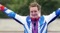 Alistair Brownlee, who earned gold and bronze in the triathlon