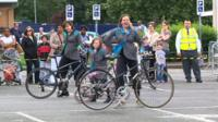 Bicycle Ballet's London show
