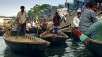 Ferrymen in Dhaka