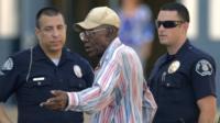 Preston Carter speaks to police, Los Angeles, California 29 August 2012