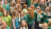 Festival for redheads